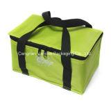 Sac de pique-nique isolé en polyester, sac à lunch plus frais (BG2056)