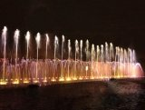 Colorful Light Show Garden Use Water Dancing Music Fountain