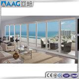 중국 제조자 두 배 강화 유리 미닫이 문