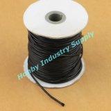 Stringa incerata corda nera libera del diametro di lunghezza 2.0mm