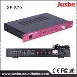 Die integrierten Jusbe S-70 65W 8ohm 4 Lautsprecher-Link-Multimedia schielten Audiodigital-Verstärker mit Mikrofon-Schnittstellen-preiswertem Preis an