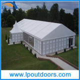 10m Outdoor Clear Span Event Marquee Storage Tent com ABS e parede de vidro