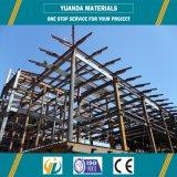 Edificio de la estructura de acero del palmo de la larga vida