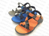 Ботинки сандалии людей с верхушкой ткани и подошвой TPR (RF16288)
