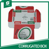 Caixa superior da pizza do papel da venda