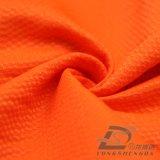 Agua y de la ropa de deportes tela tejida chaqueta al aire libre Viento-Resistente 100% de la pongis del poliester del telar jacquar de la tela escocesa abajo (53215)