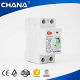 2p 4p Elektromagnetisch Type RCBO ELCB RCCB met de Certificatie van Ce