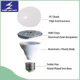 luz de bulbo plástica de 3W B22 LED