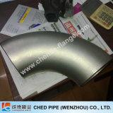 L'acciaio inossidabile 90degree mette l'accessorio per tubi in cortocircuito del gomito