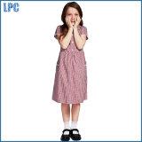 Классицистическое платье шотландки полиэфира для формы начальной школы