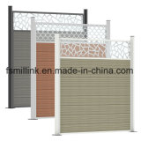 Octagon Pillar Pattern Fence