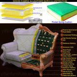Sofá com o gabinete de madeira da tabela para a mobília da sala de visitas (521)