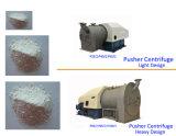 Sal que refina o centrifugador do empurrador de dois estágios