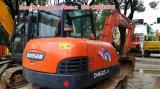 Petite excavatrice de l'offre 5-6t, excavatrice utilisée de Doosan 60 à vendre