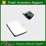 RFID che ostruisce il supporto di scheda del raccoglitore Bank/ID della scheda di Aluma
