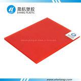 Folha plástica do telhado do policarbonato da Gêmeo-Parede da matéria- prima de Bayer