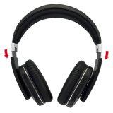 Bluetooth sin hilos de alta fidelidad V4.0 Tereo en los auriculares del oído con Mic - plata