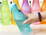 Hot Sale 360ml Frosted Space Water Plastic Bottle for Drinking