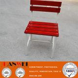 Silla de madera del metal de los muebles de los muebles de acero