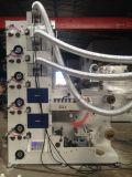 Machine d'impression de Flexo avec la station de découpage tout UV