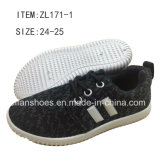 L'injection de mode la plus neuve chausse les chaussures de chaussures de sport d'enfants (FFZL170225-02)