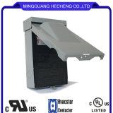 UL-Trennungs-Kasten ziehen den fixierten 30A 120V Schalter aus, der für Klimaanlagen, Wärmepumpen im Freien ist