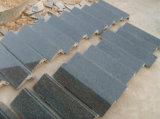 Плитка гранита естественного камня Polished совершенно черная для пола/Countertop/верхней части/ванной комнаты тщеты