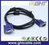 モニタまたはProjetorghtVGA J002_1.5mのための1.5mの高品質の男性男性3+4/3+6 VGAケーブル