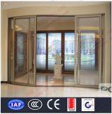 Portes coulissantes incurvées par aluminium de luxe (BHA-DSA05)