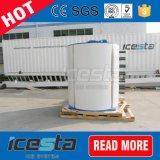 corpo cilindrico vaporizzatore di uso della macchina di ghiaccio del fiocco dell'acqua dolce 20t