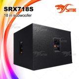 """Srx718s Hoge Macht 18 """" Systeem van de Spreker van het Woofer het Openlucht Audio"""