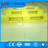 다채로운 평면 3 주자 유형 HDPE 플라스틱 깔판