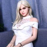 грудь 165cm малая с куклой 100% силикона волос Blone взрослый сексуальный