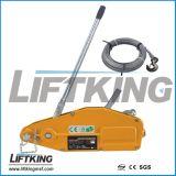 Kabel-Handkurbel-/der Kapazitäts-0.8t Drahtseil, das Hebevorrichtung zieht