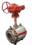 3 robinet à tournant sphérique de l'acier inoxydable CF8m de pouce