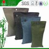Saquinhos de bambu do desodorizante de Carcoal para Wardore Clothet