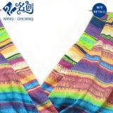 Multicolor Horizontal-Elimina la alineada atractiva de las señoras de la manera del V-Cuello decusado de la Largo-Funda