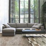 Moderne Möbel-hölzernes Freizeit-Gewebe-Sofa für Wohnzimmer