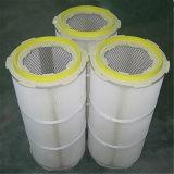 Polvo industrial del casquillo plástico para el cartucho de filtro