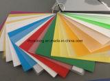 Feuille solide transparente ou colorée de pp, Correx, Corflute, fournisseur de Coroplast
