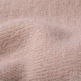 Deux côtés des tissus d'acétate de laines et de cellulose pour la couche de l'hiver