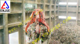 Benna della gru a benna dello scarto della gru a benna dell'immondizia della buccia d'arancia della centrale elettrica utilizzata nella centrale elettrica