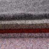 Mohair /Cotton/tessuti Mixed di nylon lane del poliestere/delle lane nel nero di Lignt