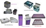 Подгонянные коробки подарка слоения Cmyk косметические с вставками