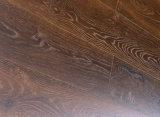 Étage en stratifié de la V-Cannelure Kn8302 de peinture de chêne