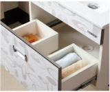 Gabinete de banheiro Multi-Layer da madeira contínua da mobília do banheiro