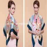 O lenço o mais novo da seda da impressão de Digitas do estilo do xaile da qualidade