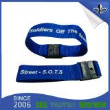 Bracelets promotionnels bon marché faits sur commande de tissu pour l'usager