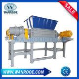 De dubbele Ontvezelmachine van de Schacht voor het Houten Stevige Plastic Afval van de Pallet