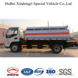 5cbm JACのユーロ4 LPGタンクトレーラーの燃料タンクのトラック